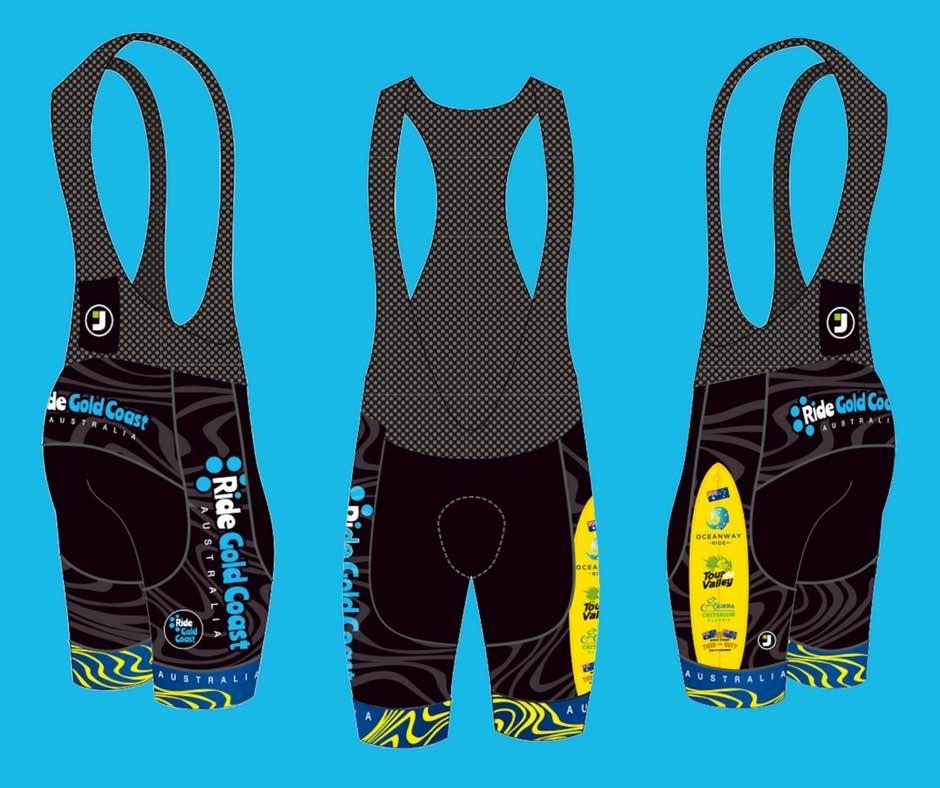 Ride Gold Coast Kit - Bib Shorts