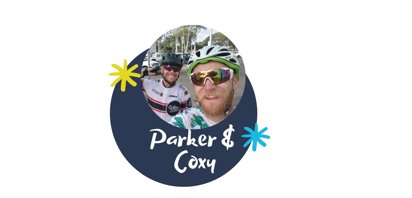 Ride Gold Coast February Smilers Parker and Coxy